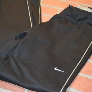 1564 Womens Nike RUNNING Gym Pants Size XS Fitted